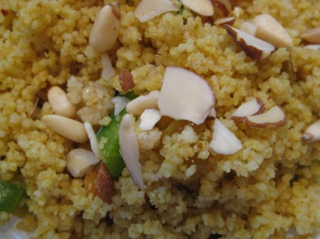 couscous salad (without craisins)