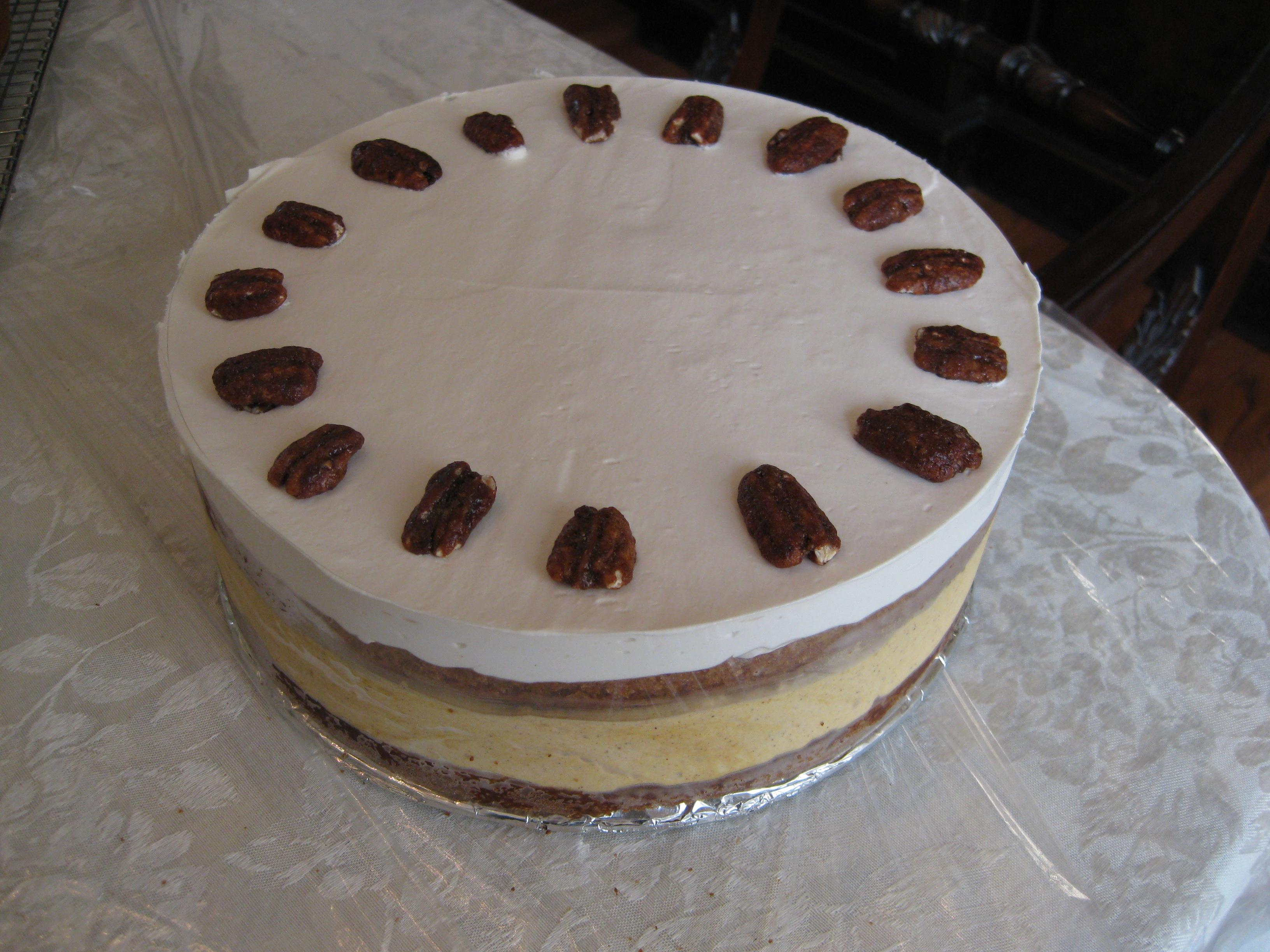 ... Desserts: Apple Breton and Pumpkin Mousse Cake | Pragmatic Attic