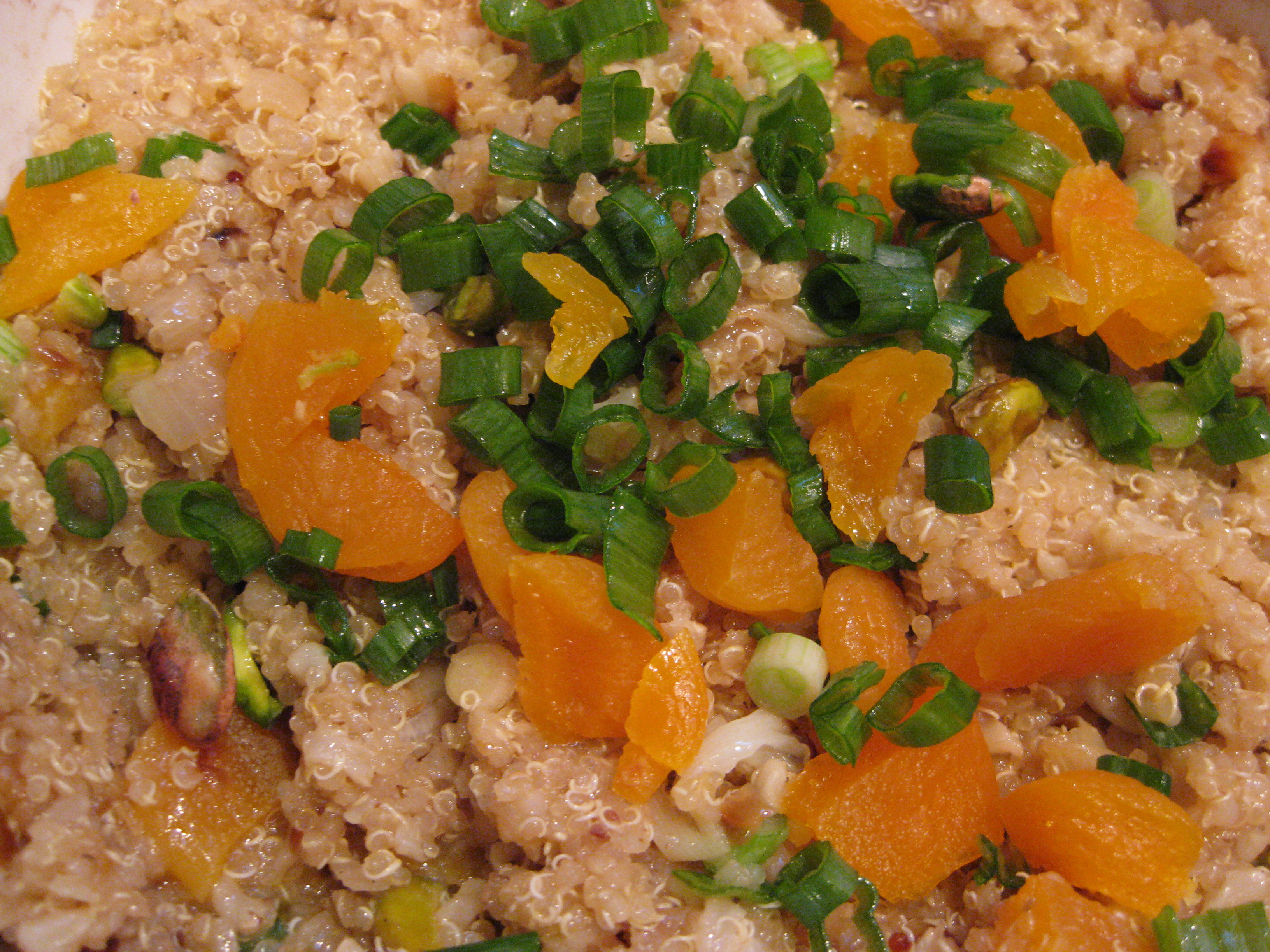 quinoa red rice and quinoa salad with it s from the ottolenghi ...