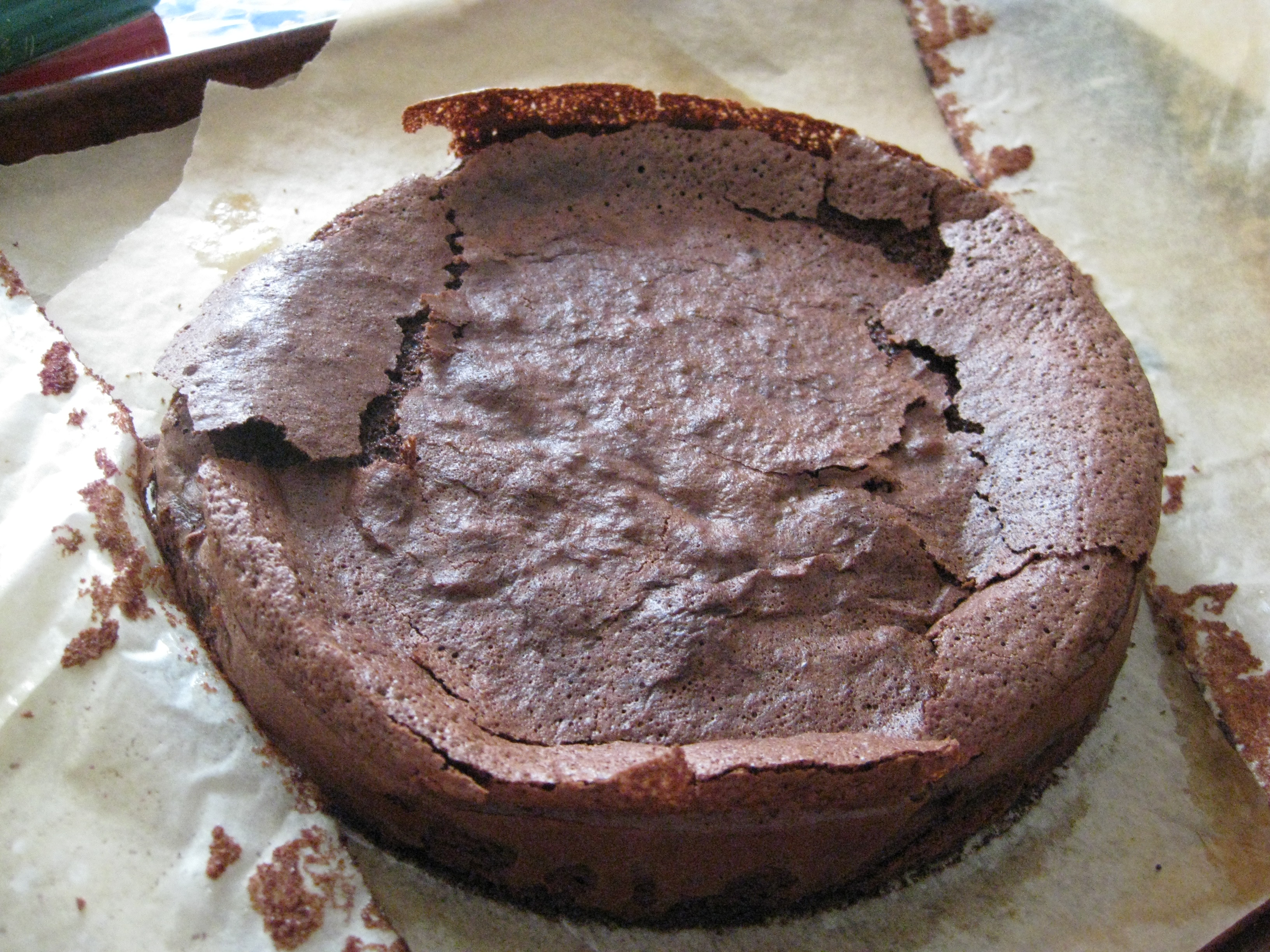 Michel Rostang's Double Chocolate Mousse Cake (Dorie Greenspan ...