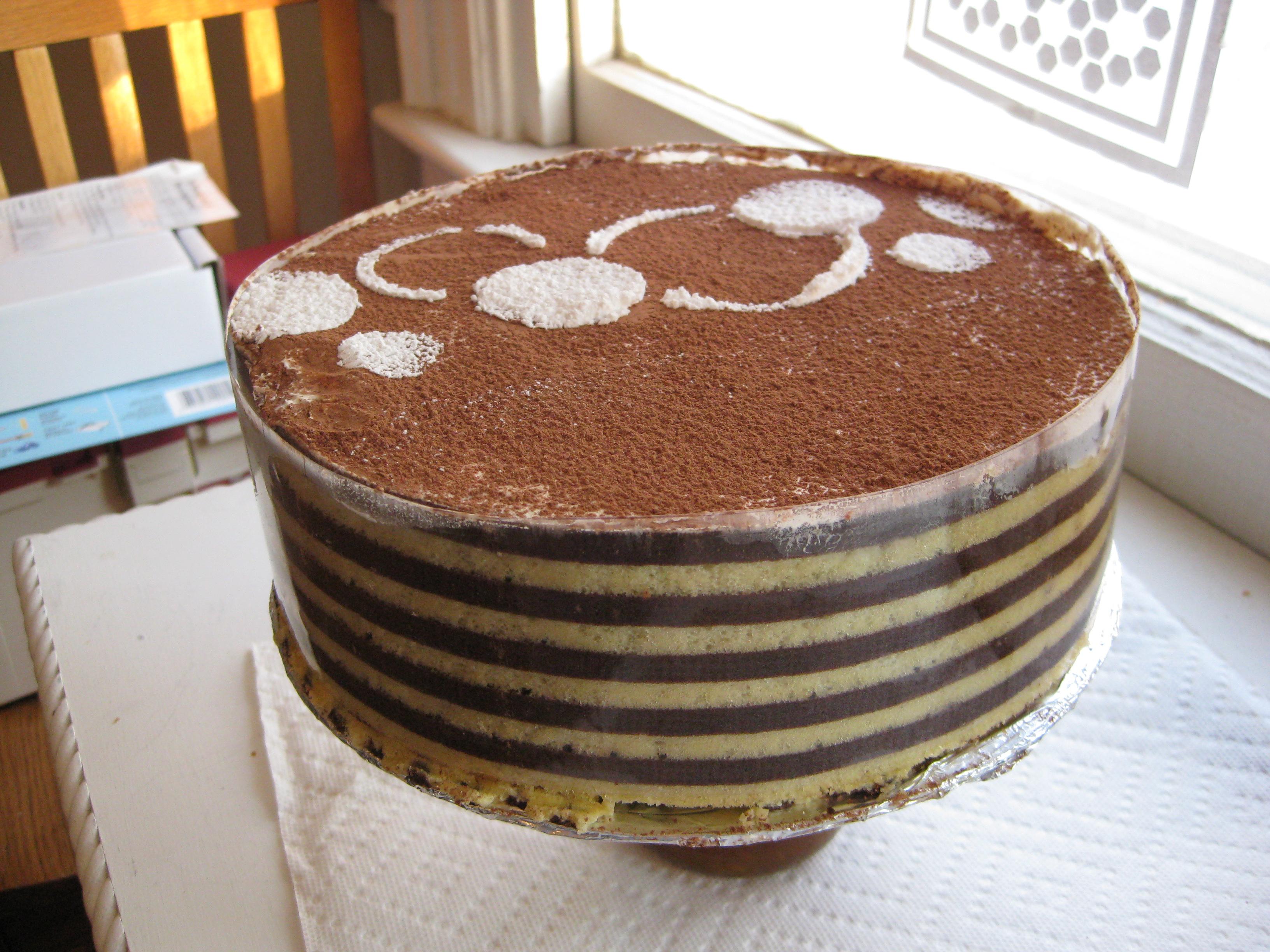 Joconde Sponge Cake Recipe