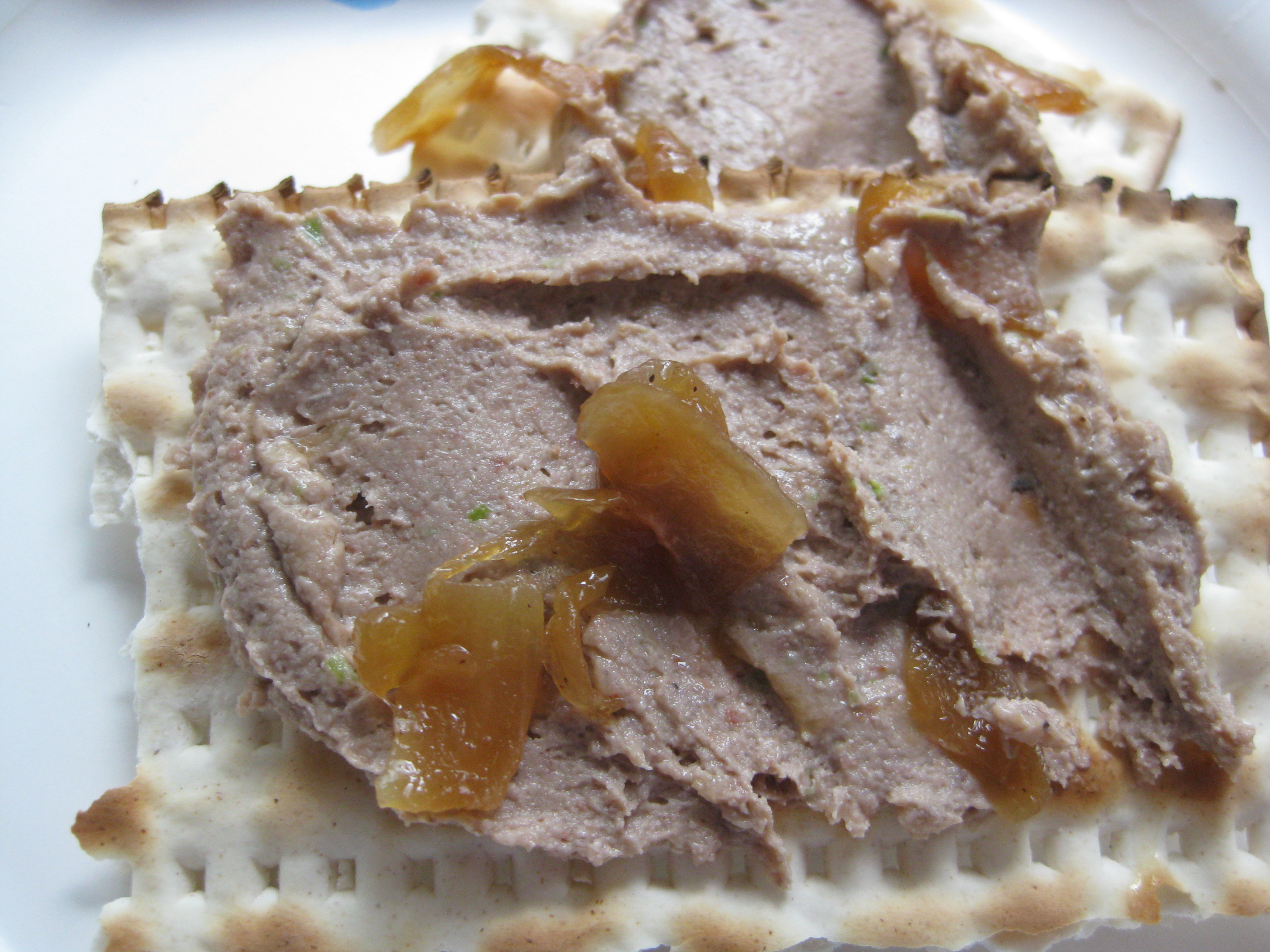 Aunt Bev's Vegetarian Chopped Liver Recipes — Dishmaps
