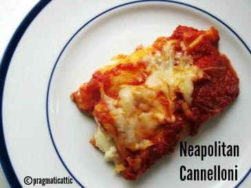 nuova alta qualità molti stili prima qualità Neapolitan Cannelloni (Manicotti) | Pragmatic Attic