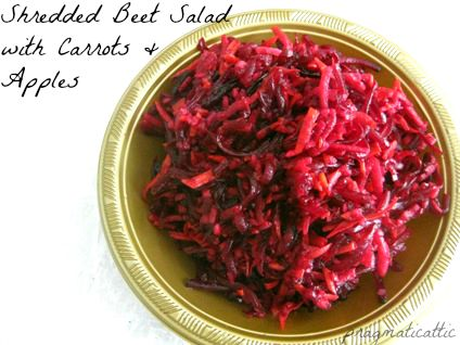 beet carrot apple saladtext