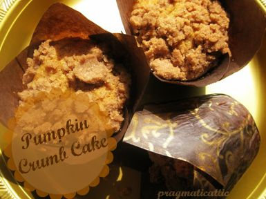 pumpkin crumb cake text